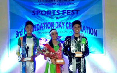 Sta. Veronica College's Sports Fest and Foundation Day